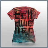 Celldweller - Profile Sketch (Girls - 2-Sided All-Over Print) T-Shirt