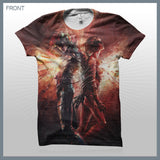 Celldweller - Bound (2-Sided All-Over-Print) T-Shirt