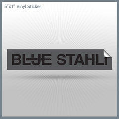 Blue Stahli - Pitchfork Logo 5 x 1 Vinyl Sticker