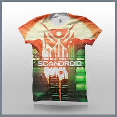 Scandroid - Rising Sun (2-Sided All-Over-Print) T-Shirt