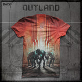 Outland - Robot All-Over Print T-Shirt