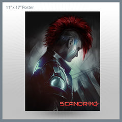 Scandroid - Empty Streets 11x17 Poster