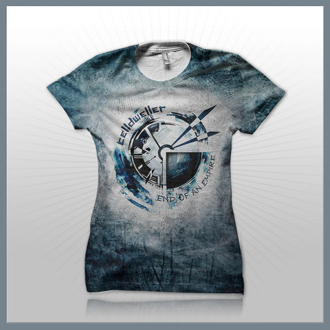 Celldweller - Time (2-Sided All-Over-Print) Girls T-Shirt