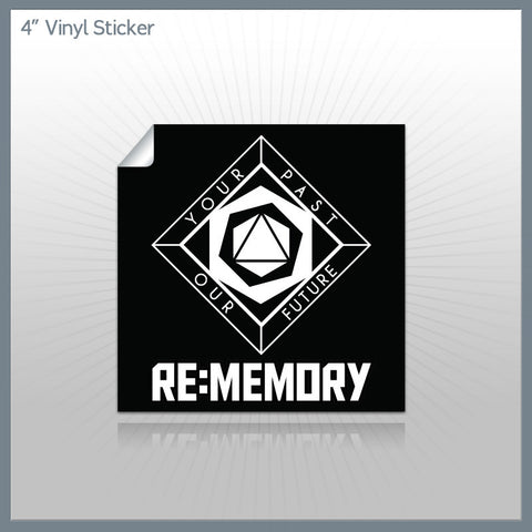 Blackstar - Re:memory Logo 4 in. Vinyl Sticker
