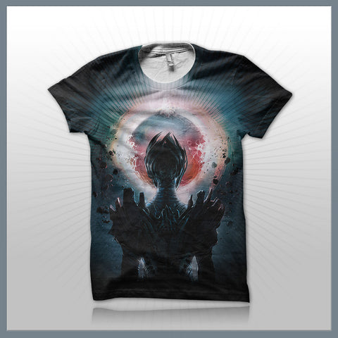 Celldweller - Overseer (2-Sided All-Over-Print) T-Shirt
