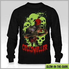 Celldweller - Zombie Long Sleeve T-Shirt (Glow-In-The-Dark)