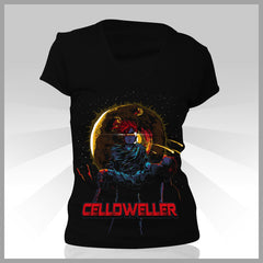 Celldweller - Scardonia Girls V-Neck Shirt