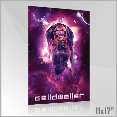 Celldweller - SVH02 11x17 Poster (1 of 4) (Purple)