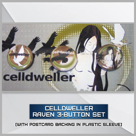 Celldweller - Raven 3-Button Set