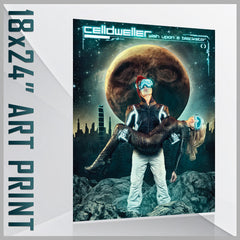 Celldweller - Wish Upon A Blackstar 18 in. x 24 in. Art Print