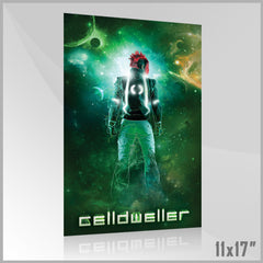 Celldweller - SVH02 11x17 Poster (2 of 4) (Green)