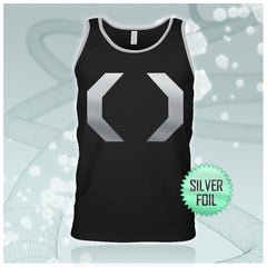 Celldweller - Cellblock Silver-Foil Guys Black/Heather Tank