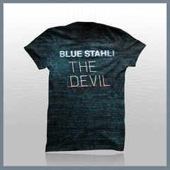 Blue Stahli - The Devil (2-Sided All-Over-Print) T-Shirt
