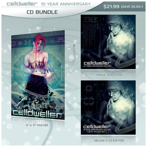 Celldweller - 10 Year Anniversary - CD Bundle