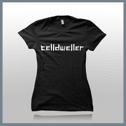 Celldweller - Distressed Logo Babydoll Girls T-Shirt