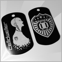 Celldweller - Cyborg Dog Tag