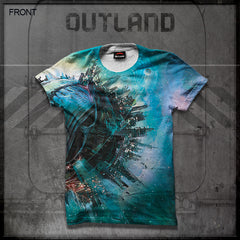 Outland - Planet All-Over Print T-Shirt