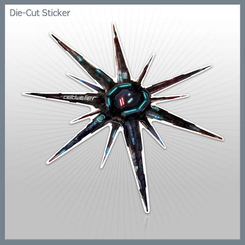 Blackstar - Die-Cut Sticker