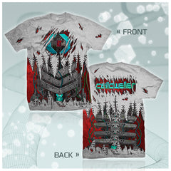 Celldweller - Symbiont (2-Sided All-Over Print) T-Shirt