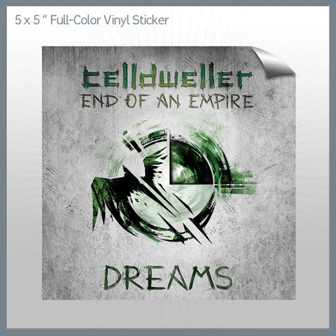 Celldweller - Dreams 5x5 Sticker