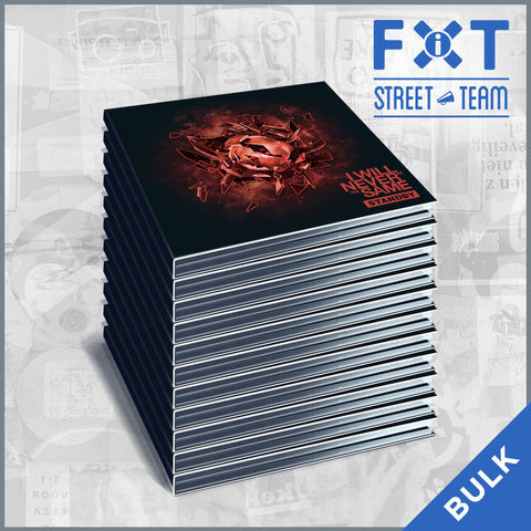 I Will Never Be The Same - Standby & Tornadoes (2-CD Digipack) (FiXT Street Team CD Packs)