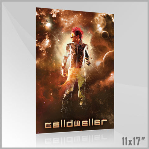 Celldweller - SVH02 11x17 Poster (3 of 4) (Orange)