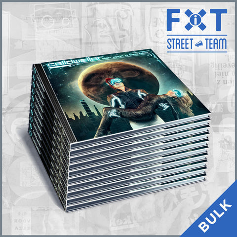 Celldweller - Wish Upon A Blackstar CD (FiXT Street Team CD Packs)