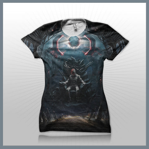 Celldweller - Emperor (2 Sided All-Over-Print) Girls T-Shirt