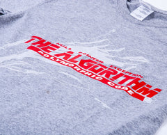 The Algorithm - Polymorphic Code Grey T-Shirt
