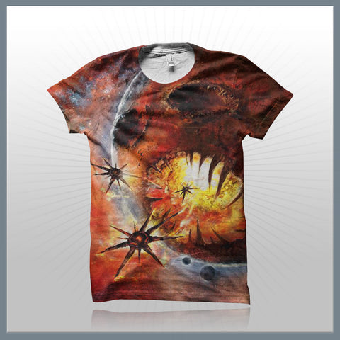 Blackstar - Scardonia (2-Sided All-Over Print)  T-Shirt
