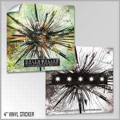 Celldweller - Wish Upon A Blackstar Chapter 05 Vinyl Sticker