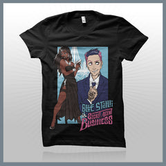 Blue Stahli - Secret Agent Business T-Shirt