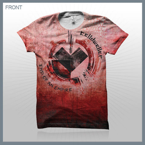 Celldweller - Love (2-Sided All-Over-Print) T-Shirt