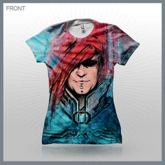 Celldweller- Hyperion (2-Sided All-Over Print) Girls T-Shirt