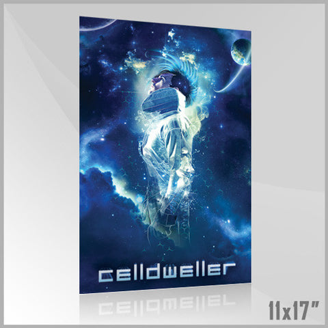 Celldweller - SVH02 11x17 Poster (4 of 4) (Blue)
