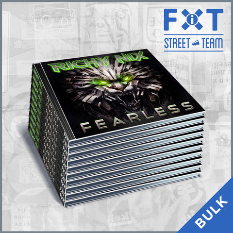 Richy Nix - Fearless (FiXT Street Team CD Packs)