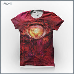 Circle of Dust - Pale Reflection (Men's) Cut & Sew All-Over-Print T-Shirt