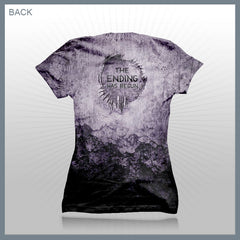 Celldweller - The Ending Has Begun (2-Sided All-Over-Print) Girls T-Shirt