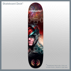 Celldweller - Skateboard Deck