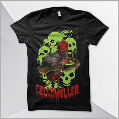 Celldweller - Zombie T-Shirt (Glow-In-The-Dark)