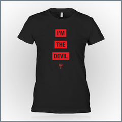 Blue Stahli - I'm The Devil Girls T-Shirt