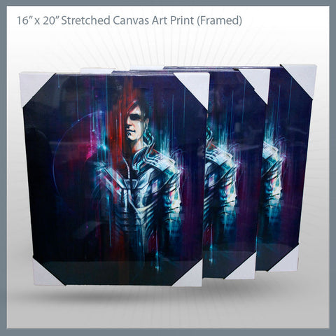 Celldweller - Enviro-Suit Canvas Art Print