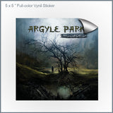 "Argyle Park - Misguided 5x5"" Vinyl Sticker"
