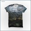 Argyle Park - Misguided Cut & Sew All-Over Print T-Shirt