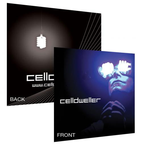 Celldweller - Cellout Vinyl Sticker