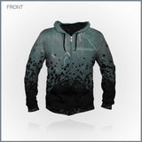 Celldweller - Debut All-Over Print Zip-up Hoodie