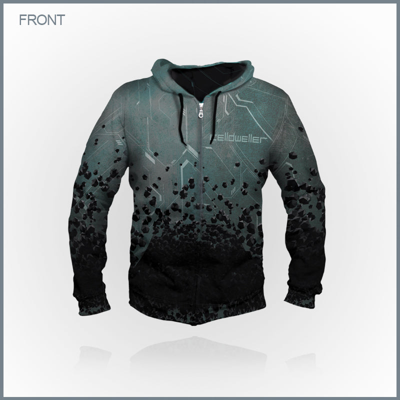 bf91bf63 Celldweller - Debut All-Over Print Zip-up Hoodie – FiXT Store