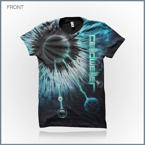 Celldweller - I Am Electric Eye Cut & Sew All-Over-Print T-Shirt