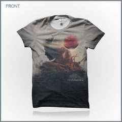 Celldweller - Offworld Cut & Sew All-Over-Print T-Shirt