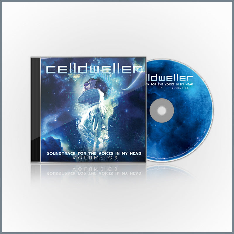 Celldweller - Soundtrack For The Voices In My Head Vol  03 (Limited Edition  CD + Lossless Download)